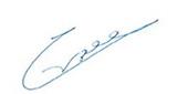 החתימה של גיורא ברדעה